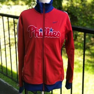 Nike Phillies Track Jacket Size Large